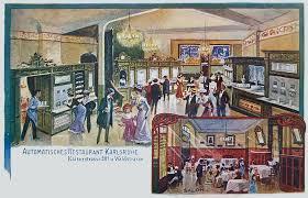 Vending Machine Restaurant Nyc Adorable Automats Restauranting Through History