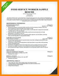 Waiter Resume New Waiter Resume Template Waiter Resume Service Resume Restaurant
