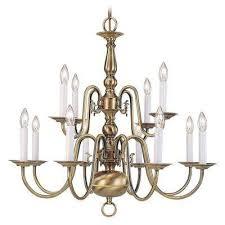 providence 12 light antique brass chandelier