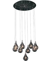 multi pendant lighting fixtures. Shown In Polished Chrome Finish And Clear Glass Multi Pendant Lighting Fixtures