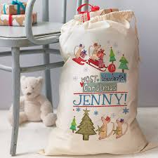 Personalised Christmas Gift Sack By Alice Palace Personalised Christmas Gifts Australia