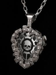 image of standard pick in guitar pick holder pendant