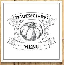 Thanksgiving Planner Meal Template Webbacklinks Info