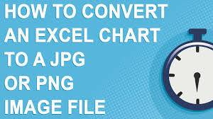 Export Excel Chart To Jpg How To Convert An Excel Chart To A Jpg Or Png Image File