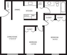 Elegant Spice Tree Apartments   Two Bedroom Apartment Floor Plans And Rates. Anja  Wittwer · 750 Sq Ft ...