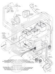 Club car wiring diagram 36v entrancing 48 volt battery