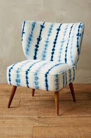 blue and white chair. Blue And White Chair I