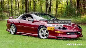 Vicrez Chevrolet Camaro 1993-1997 Type J Style Polyurethane Body ...