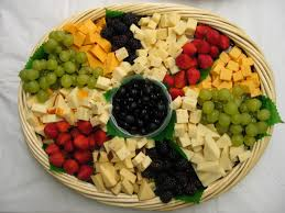 Image result for fruit and cheese platter
