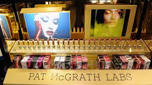 s on display during the pat mcgrath labs unlimited edition launch at sephora herald square on