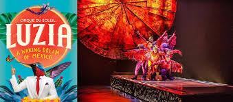 Cirque Du Soleil Luzia Grand Chapiteau At Pepsi Center