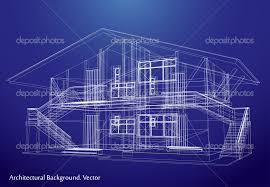architecture design blueprint. Architecture Blueprint House Vector Emaria Design D