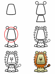 how to draw a lion this is a great site that teaches users how to draw s characters locations objects aliens etc