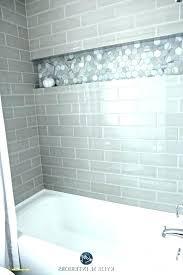subway tile bathtub ideas subway tile shower ideas gray subway tile grey subway tile shower gray