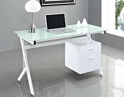 ikea glass computer desk glass desk cover ikea clear glass computer rh skyglass co small glass
