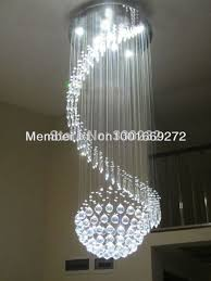 modern comtemporary crystal lamp stairs lamp living room restaurant lights chandelier whole direct from factory