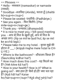 english phrases with hindi meaning and