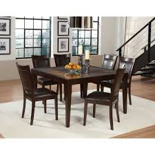 Two Toned Dining Room Sets Dining Set Oak Room Table Nostalgia Piece X Dining Room Pc Dining