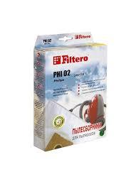 25% <b>Filtero Мешки</b>-<b>пылесборники PHI 02</b> ЭКСТРА, 2 шт., для ...