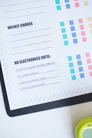 How To Limit Screen Time For Kids And Free Printable Chore