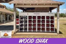 Woodchuck Firewood Vending Machines Impressive Wood Shax Outdoor Vending Solutions