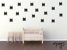 batman mask wall decals