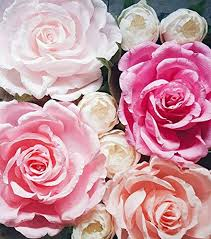 Paper Flower Decor Amazon Com Giant Paper Flower Wall Display Pink Wedding Backdrop