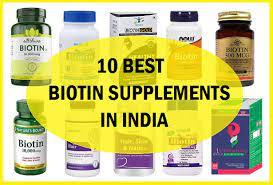 top 10 best biotin supplements in india