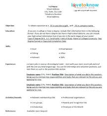 chronological resume template download chronological resume example sample resume chronological reverse