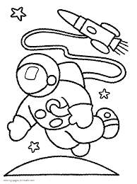 Awesome printable activity coloring pages for kids. Coloring Pages For Boys Astronaut Coloring Pages Printable Com