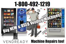 Sell Used Vending Machines