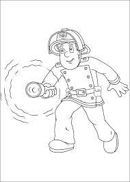 Kleurplaat Brandweerman Sam 48