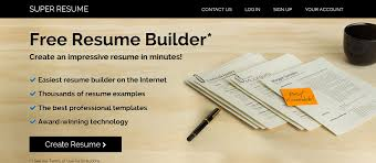 top best online resume builder themecot super resume online resume builder