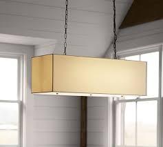 linen rectangular pendant rectangular pendant light16