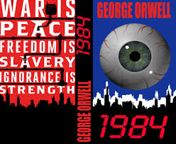 1984 by george orwell book cover design by igman51