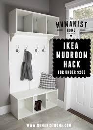Ikea Mud Room diy make your own ikea hack mudroom bench & storage for under 2060 by uwakikaiketsu.us