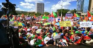 Bildergebnis für eritrea protest in geneva