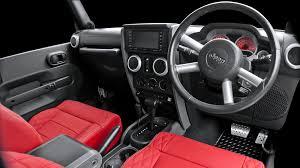 jeep wrangler 4 door interior. jeep wrangler leather interior 200711 models by chelsea truck company 4 door