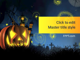 Free Halloween Background Powerpoint Template Free Powerpoint
