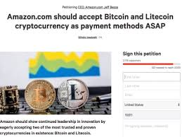 Change.org Petition On Bitcoin And Amazon - Business Insider