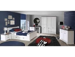 Jugendzimmer Gaston 66 Weiß Grau 7 Teilig Schlafzimmer Schneeeiche