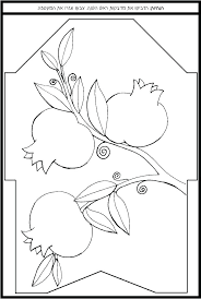 Aleph Bet Coloring Pages Acnee