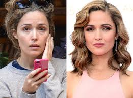 rose byrne from stars without makeup