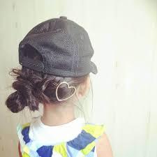 可愛くキメたい上手なママたちから教わる帽子の日のヘアアレンジ