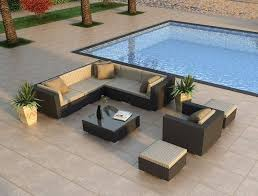 modern wicker patio furniture. High End Patio Furniture Contemporary All Weather Wicker Outdoor With Regard To Modern Designs 11 A