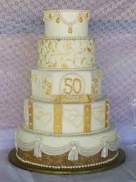 50th Anniversary Cupcake Decorations Golden Anniversary Cake Cakecentralcom