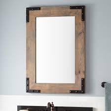 Bathroom Framed Mirrors Framed Bathroom Mirrors Signature Hardware