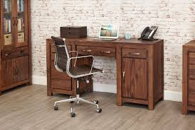 office desk workstation. Mayan Solid Walnut Dark Wood Double Pedestal Large Home Office Desk Workstation A
