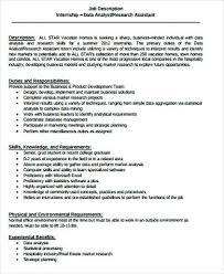 Management Analyst Job Description Extraordinary Market Research Analysts Job Description Data Analyst Example And