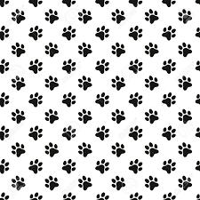 Paw Print Pattern Custom Inspiration Ideas